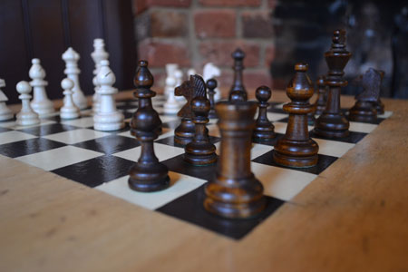 Play traditional and modern board games at the Woolpack